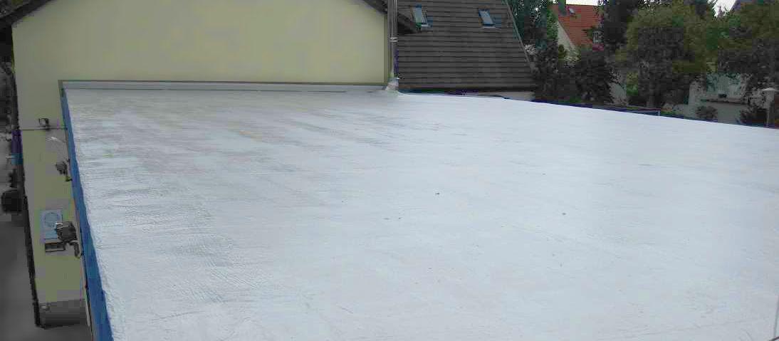 Extrem Flachdachsanierung mit Flüssigkunststoff | GD-Dachsysteme.de DZ54